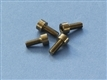 Front Piece Screws M4x10 Titanium, Kit of 4 pcs